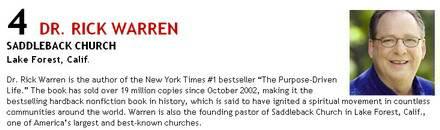 Church Report magazine: Rick Warren