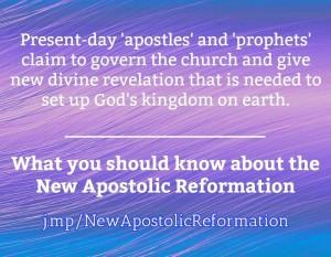 NAR New Apostolic Reformation
