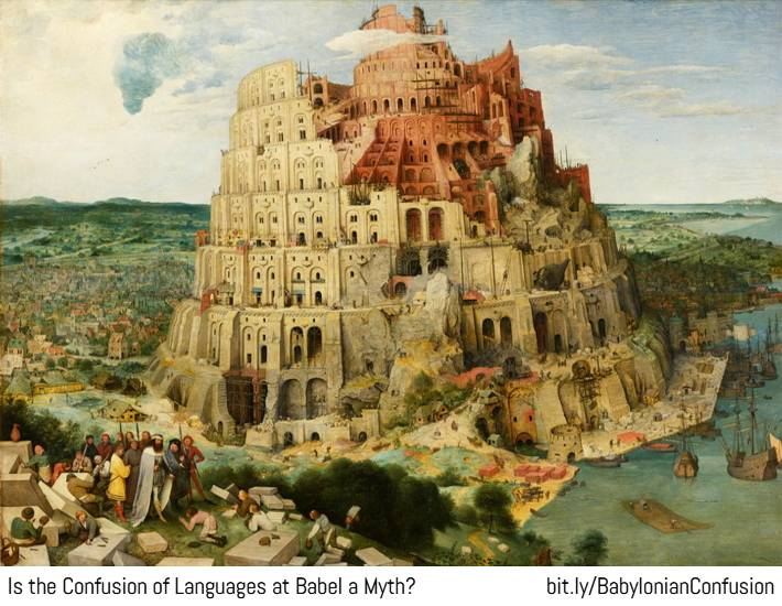 Babylonian confusion of languages